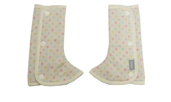 Shoulder & Corner Cover Dot ivory